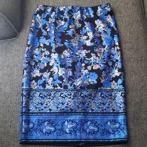 ECI New York floral skirt